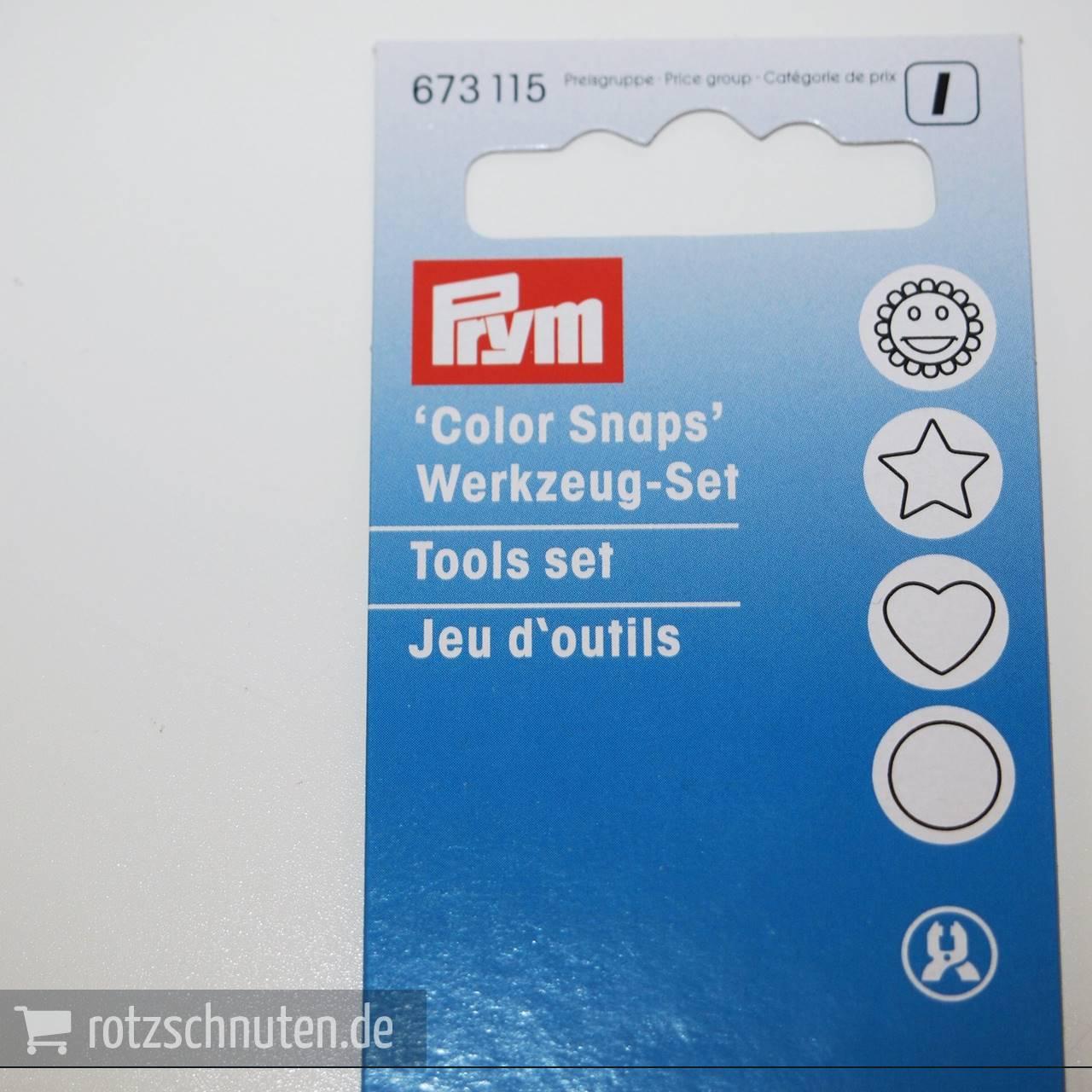 PRYM Werkzeug Color Snaps / auch für Kam Snaps